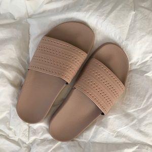 adidas nude slides